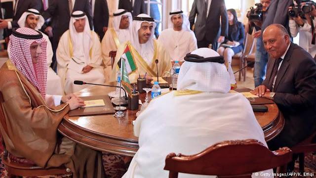 قطر تسابق دول المقاطعة في الاستعانة باللوبي اليهودي لاستمالة الموقف الامريكي