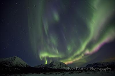 Северное сияние. Фотограф Robert Postma