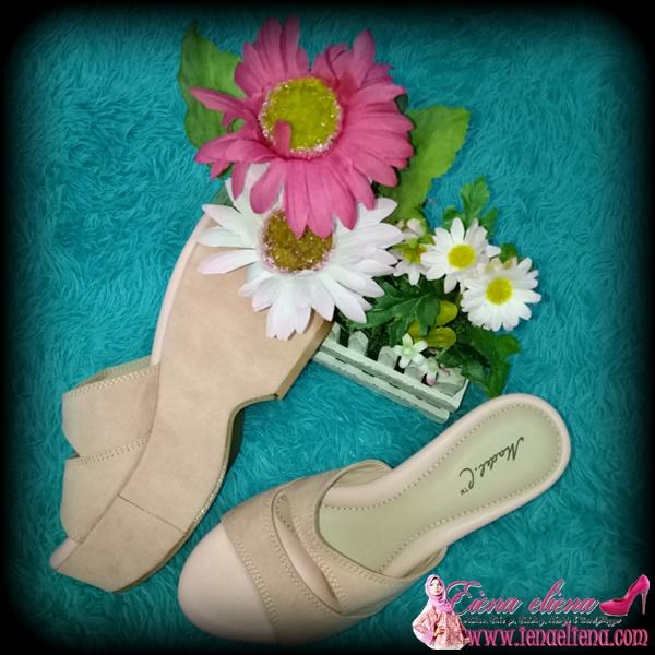 Madel.C RoseBella Clog Wedges  di happy2u.my