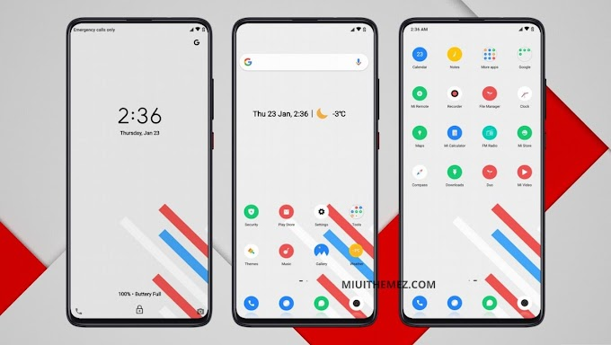 Evolution X OS MIUI Theme | Experience a Complete New Look on Your Device