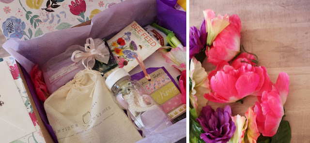 A Wildflower Themed Care Package + 55 Care Package Packing Ideas