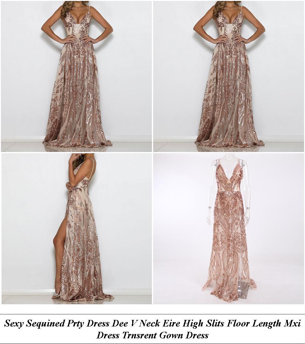 Plus Size Formal Dresses - Womens Sale Uk - Midi Dress - Cheap Name Brand Clothes