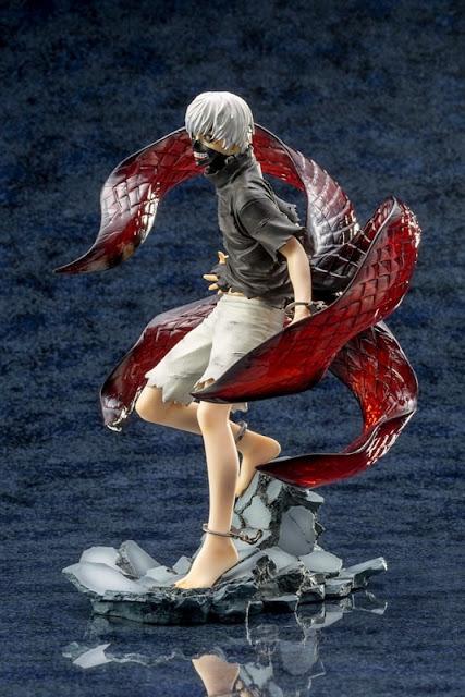 """Abierto pre-order para Ken Kaneki  Awakened Ver. Repaint ARTFX J de """"Tokyo Ghoul"""" - Kotobukiya"""