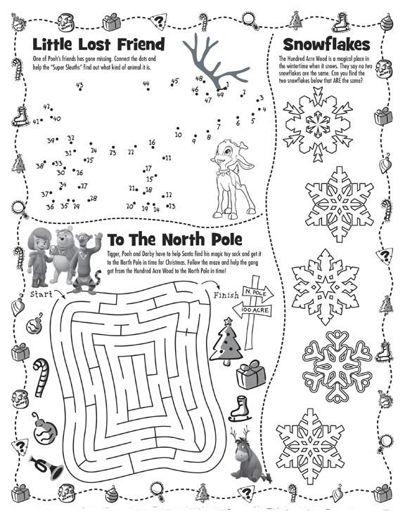 Fichas De Ingl 233 S Para Ni 241 Os Christmas Worksheets