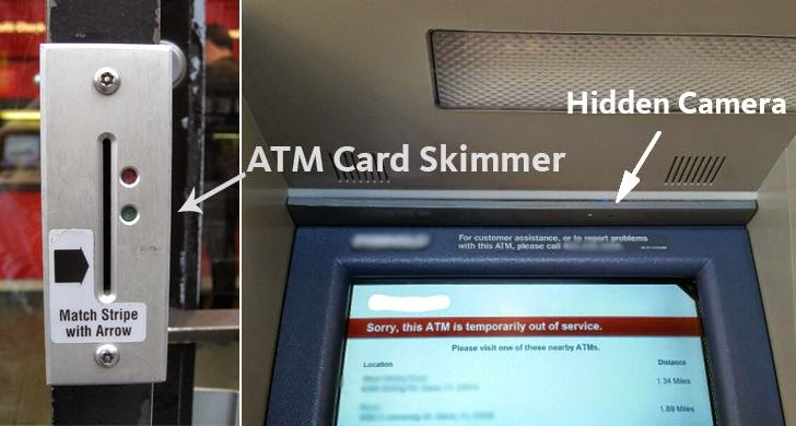 Beware of Skimming Devices Installed on the ATM Vestibule Doors
