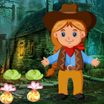 Play Games4King Little Cowgirl Escape 2