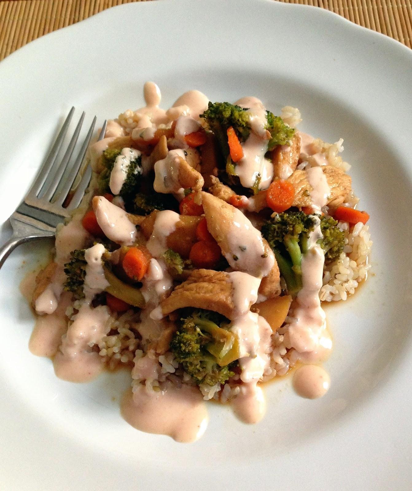 Taylor Made Healthy Chicken Teriyaki Stir Fry A Clean Version Of