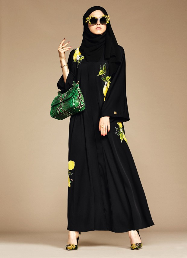 Dolce & Gabbana Abaya Collection 2016