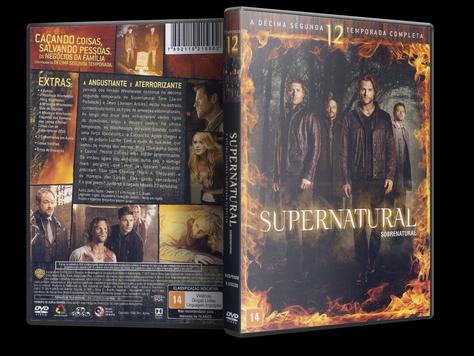 Capa DVD Supernatural - 12ª Temporada