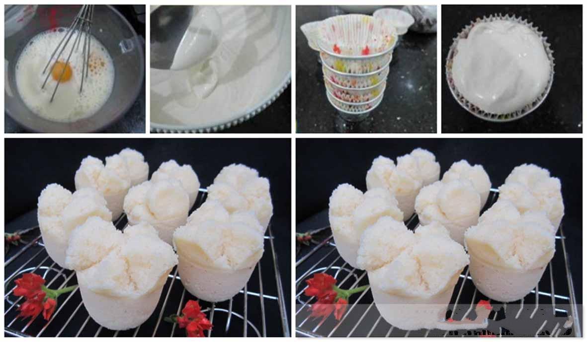 Resep Kue Mangkok Tapemekarnya Menggoda Banget Kedai