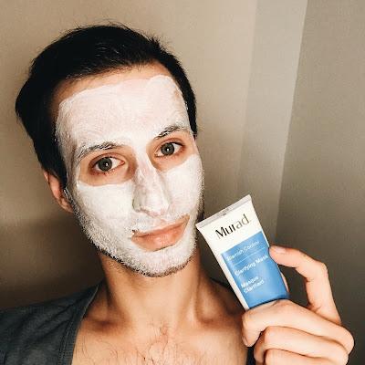 maska z glinki