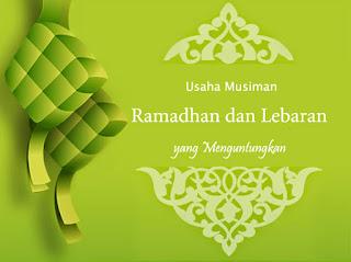 6 Jenis Usaha Musiman Ramadhan dan Lebaran yang Paling Menguntungkan
