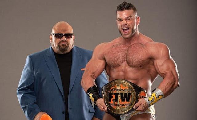 Taz detém todos os direitos sobre o FTW Heavyweight Championship