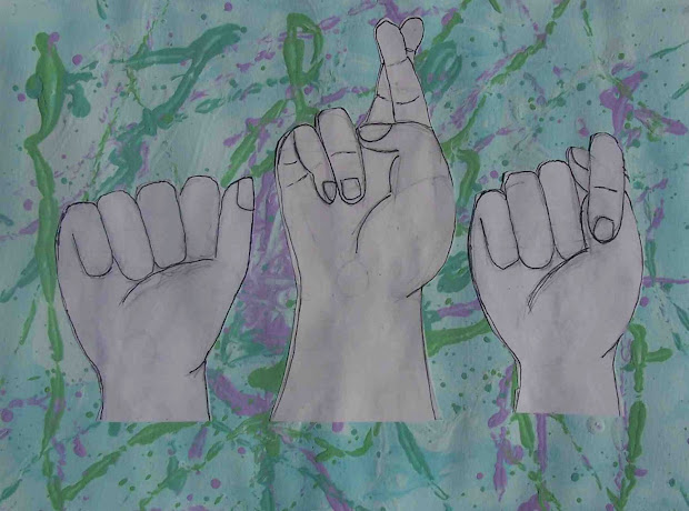 Create Art With . Drawing American Sign Language Hands