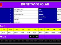 Aplikasi Program Laporan Bulanan Sekolah Lengkap