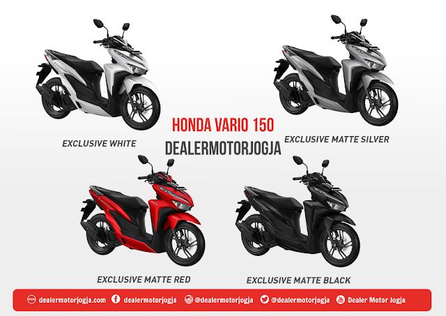 Harga Cash - Kredit Honda Jogja Vario 150 Esp 2018