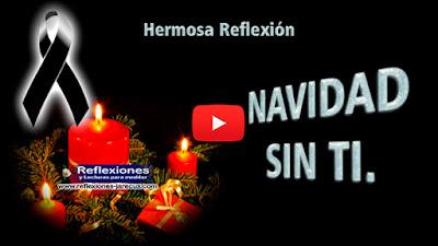 Navidad sin ti✅En Navidad es cuando más recordamos a los fallecidos, recordamos mucho a los seres queridos con quien en el pasado compartimos días alegres y festivos. Les extrañaremos siempre,