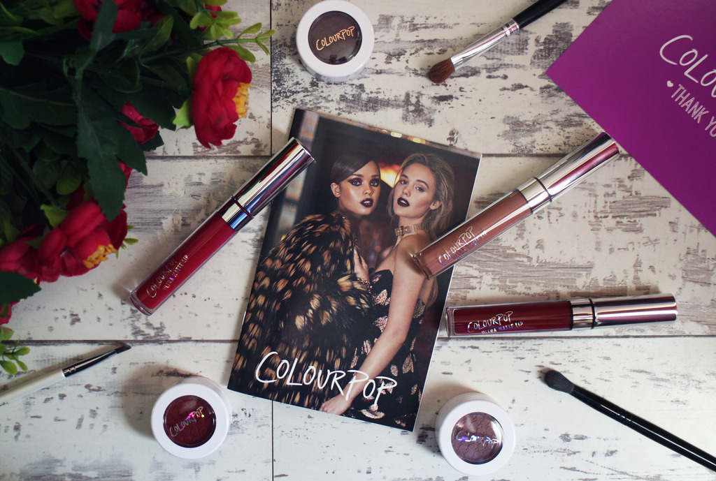 Autumnal ColourPop Cosmetics Haul