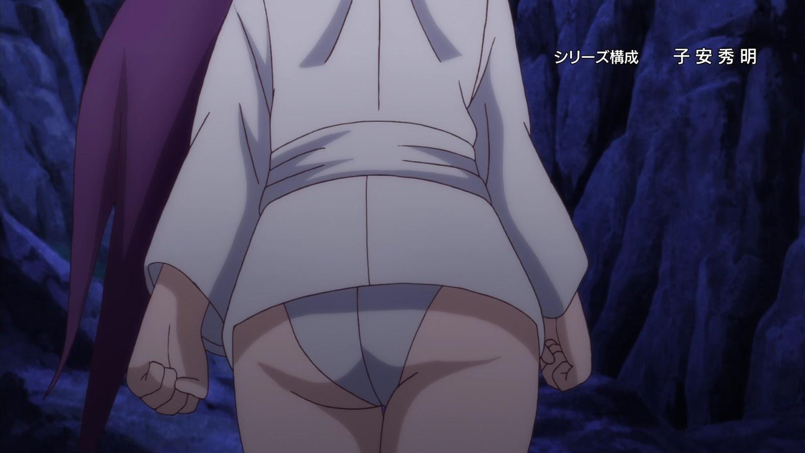 Yuragi-sou no Yuuna-san OAD - Cenas e gifs