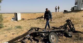 Four Palestinian militants dead in Gaza blast