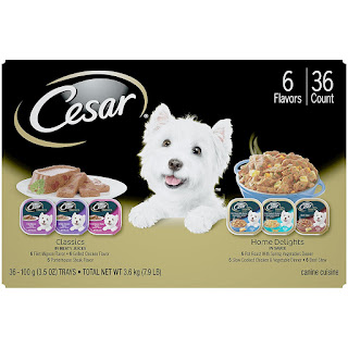 CESAR Classics Meat Flavored Adult Wet Dog Food Trays