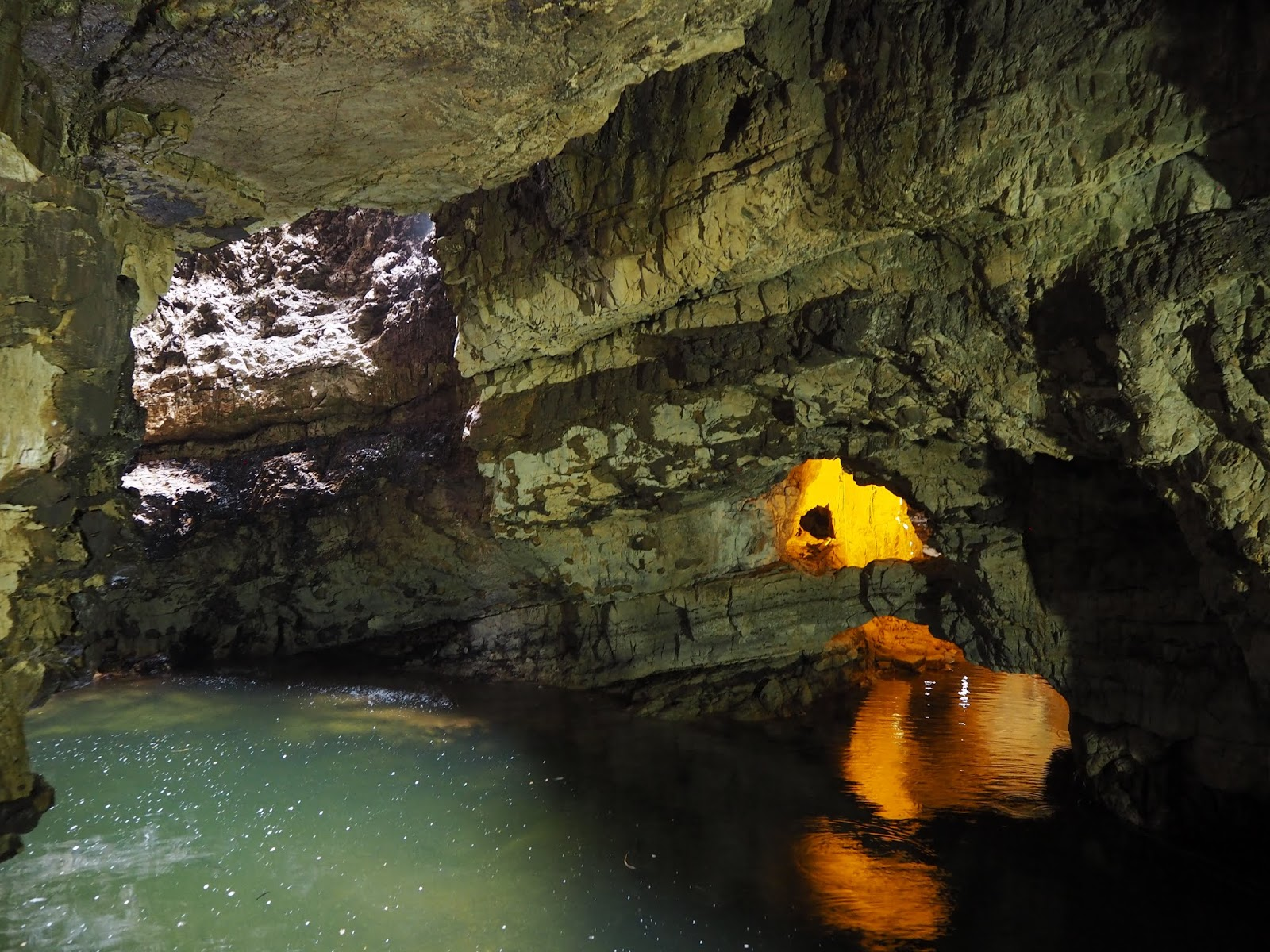 Exploring Smoo Caves In The Scottish Highlands