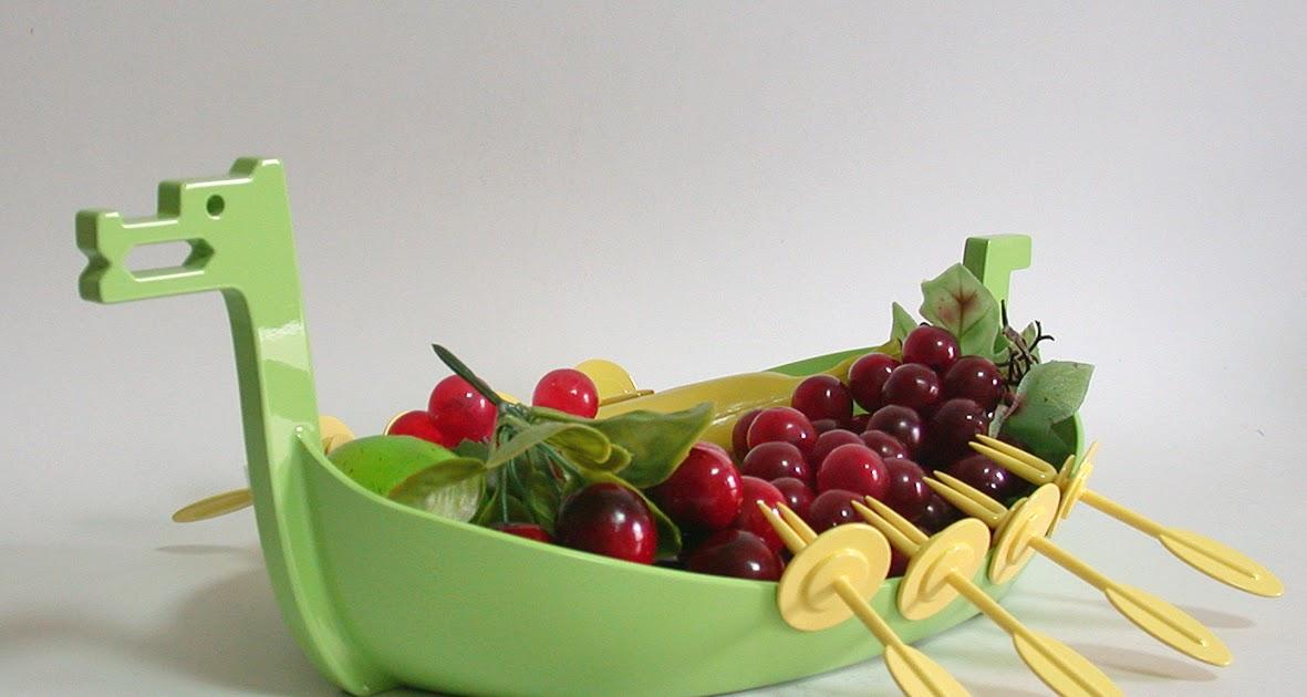 WAGAii: 大船入港:滿載水果盤 Viking Ship Fruit Tray