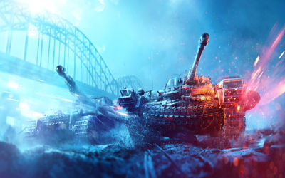 Battlefield V 2 Chars - Fond d'écran en Ultra HD 4K 2160p