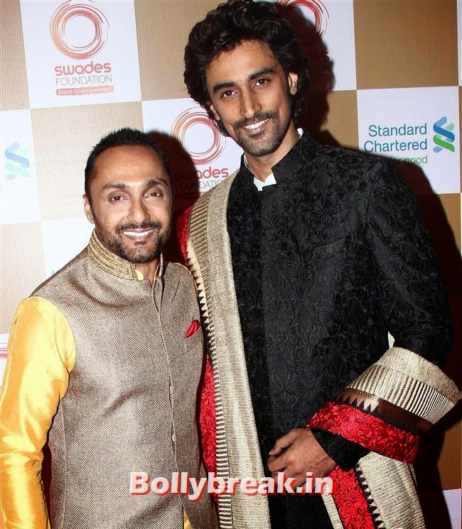 Rahul Bose and Kunal Kapoor, Sonakshi Sinha, Shilpa Shetty at Swades Foundation Fundraiser