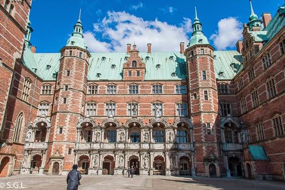 Fotografia de Entrada al castillo de Frederiksborg