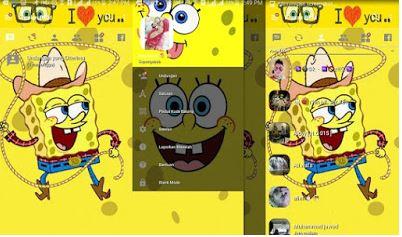bbm spongebob apk terbaru