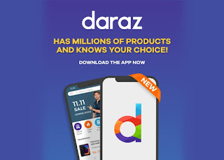Daraz Launched it's New Mobile Application with New Features