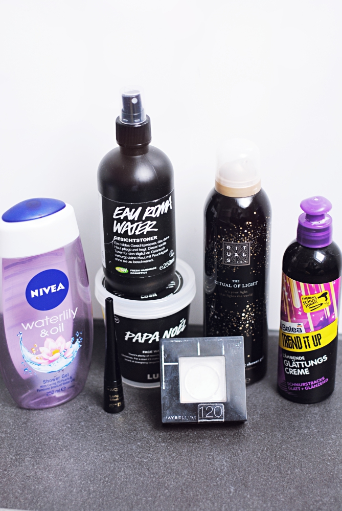 beauty empties lush maybelline balea rituals