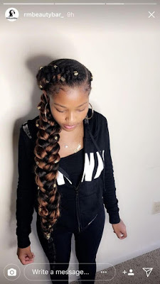 37 Butterfly Box Braids Styles For Long Black Hair To Rock in 2020