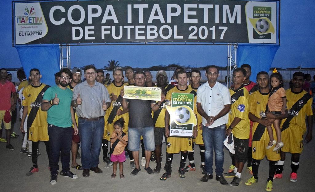 89c839addd GRANDE FINAL DA COPA ITAPETIM DE FUTEBOL ACONTECEU NESTE DOMINGO (VEJA AS  FOTOS)