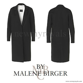 Crown Princess Victoria Style  BY MALENE BIRGER Coat