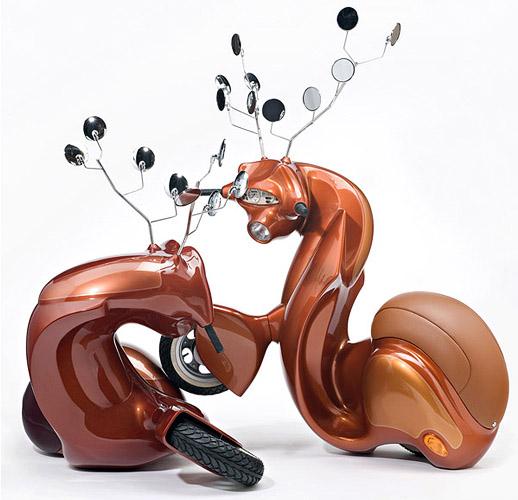 Creatividad y diseño de esculturas