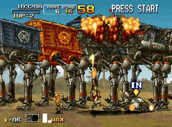 metal slug collection pc تحميل