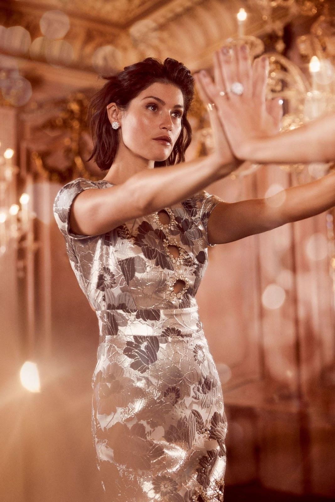 Gemma Arterton For Harpers Bazaar UK October 2018