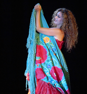Estrella Morente será una de los protagonistas de la Noche Blanca del Flamenco