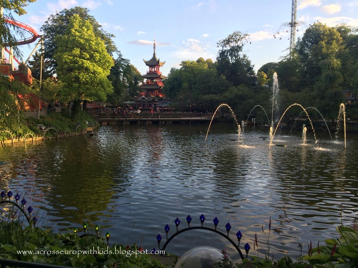 Tivoli Gardens in Copenhagen.