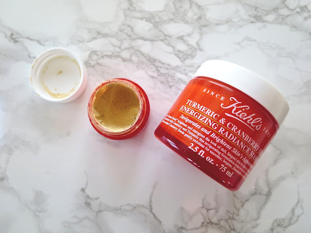 a picture of Kiehl's Tumeric & Cranberry Seed Energizing Radiance Masque