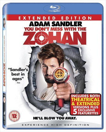 You Dont Mess With The Zohan 2008 BRRip 720p Hindi Dubbed 800MB