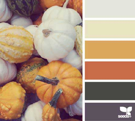 Paletas de cores no Pinterest