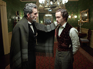 Daniel Day-Lewis Joseph Gordon-Levitt in Lincoln