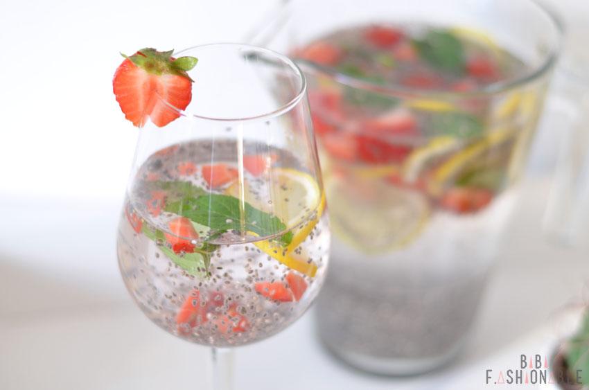 Infused Water Glas nah