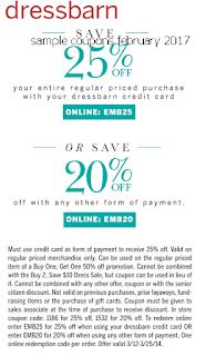free Dress Barn coupons february 2017