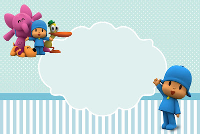 Pocoyo Party Invitations, Free Printables.