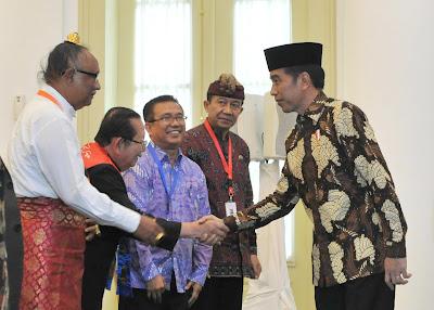 Teguhkan NKRI dan Pancasila Final, Presiden Jokowi Minta Kesepakatan Pemuka Agama Bisa Digaungkan - Info Presiden Jokowi Dan Pemerintah