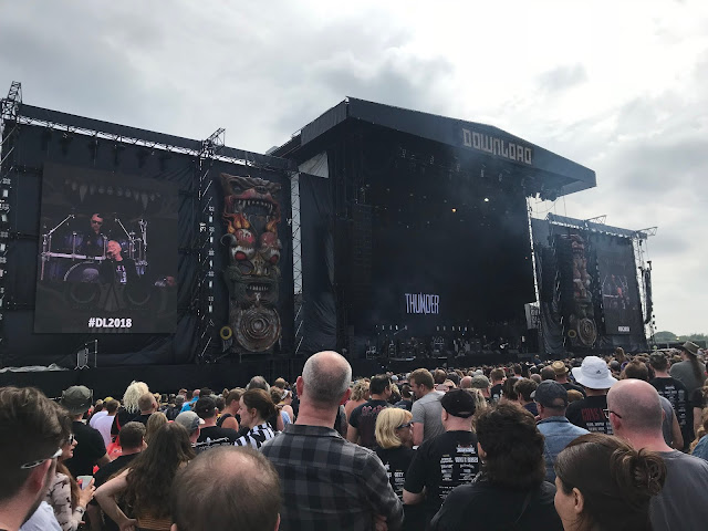 Thunder at Download UK 2018